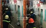 Chùm ảnh: Cuộc giải cứu nghẹt thở vụ chồng khống chế vợ, dọa nổ bình gas tự sát
