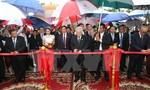 Tổng Bí thư dự lễ khánh thành Đài Hữu nghị Việt Nam - Campuchia