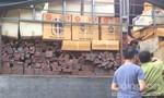 Cảnh sát giao thông bắt vụ vận chuyển hơn 6m3 gỗ quý hiếm