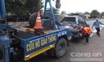 4 xe ô tô tông liên hoàn trên QL1A