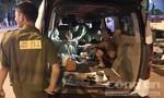Ba đối tượng lái ô tô dừng bên đường để 'phê' ma túy