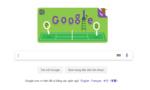 Google thay đổi Doodle mừng sinh nhật giải Wimbledon lần thứ 140