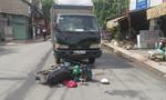 Say xỉn lái xe máy 'đối đầu' xe tải, 1 người nguy kịch