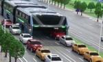 Dự án xe buýt 'hàm cá voi' ở Trung Quốc bị điều tra