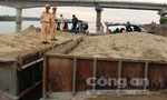 Xử lý bắt nhiều trường hợp hút cát trái phép trên sông