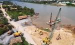 Khẩn trương khắc phục hiện trường vụ sạt lở 1.250m2 tại bờ sông Sài Gòn