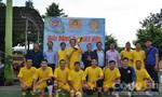 Giao hữu bóng đá, nâng cao tinh thần đoàn kết, phối hợp