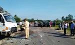 Xe tải đấu đầu xe con khiến 3 người bị thương nặng