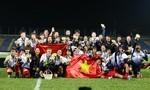 Giây phút lên ngôi 'vương' của Bóng đá Nữ Việt Nam