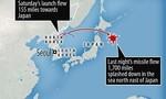 Lần đầu tiên trong 8 năm Triều Tiên phóng tên lửa bay qua lãnh thổ Nhật Bản