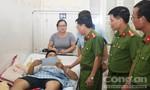 Truy đuổi tội phạm ma tuý, chiến sĩ Công an bị thương nặng