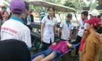 Đứt dây cáp trò chơi tại Hồ Mây, một người nhập viện