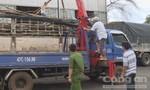 Bắt xe tải vận chuyển trên 11m3 gỗ lậu
