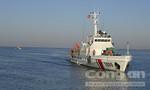 Cảnh sát biển tạm giữ tàu vận chuyển 60.000 lít dầu trái phép