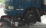 Nghe điện thoại khi đi xe, một Nam thanh niên bị xe bồn tông nguy kịch
