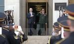 Bộ trưởng Quốc phòng Việt, Mỹ thống nhất tàu sân bay Mỹ thăm Việt Nam