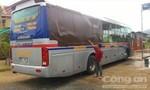 Điều tra nhóm thanh niên hung hăng 'dằn mặt' xe khách Tân Niên