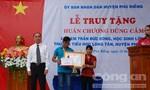 Truy tặng 'Huân chương Dũng cảm' cho học sinh quên mình cứu 4 bạn chết đuối