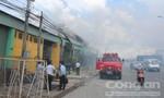 Cháy kho thuốc trừ sâu vật tư nông nghiệp, người dân và học sinh phải sơ tán