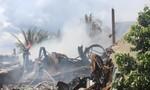 Môi trường bị ô nhiễm nặng sau vụ cháy kho thuốc trừ sâu