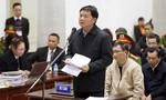 Bị cáo Đinh La Thăng tự bào chữa tại tòa