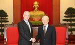 Tổng Bí thư Nguyễn Phú Trọng tiếp Bộ trưởng Quốc phòng Hoa Kỳ