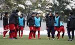 Hình ảnh U23 Việt Nam tích cực tập luyện cho trận chung kết