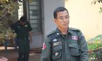 """Một cảnh sát Campuchia """"vô tình"""" chở pháo lậu qua biên giới"""