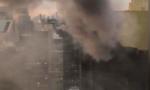 Cháy sân thượng tháp Trump, 2 người bị thương