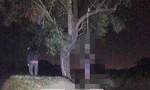 Nam thanh niên chết trong tư thế treo cổ giữa nghĩa trang