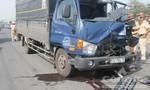 Hai xe tải va chạm trên QL51, một tài xế tử vong