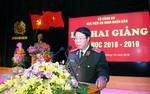 Học viện An ninh nhân dân khai giảng năm học mới