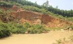 """""""Quên"""" hoàn thổ sau khi khai thác đất phục vụ cao tốc  Đà Nẵng - Quảng Ngãi"""