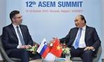 Thủ tướng tiếp xúc song phương với các nguyên thủ, nhà lãnh đạo 12 nước