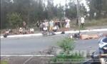 Hai xe máy đối đầu, 2 người tử vong, 1 người nguy kịch
