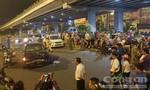 Nữ tài xế lái xe BMW tông 5 xe máy ở Sài Gòn có dấu hiệu say xỉn