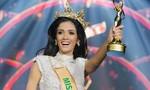 Người đẹp Paraguay ngất xỉu khi đăng quang Hoa hậu Hòa bình 2018
