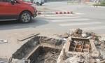"""TP.Biên Hòa: Khắc phục """"hố tử thần"""" trên đường Đồng Khởi"""