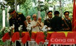 Đồng Nai: Truy điệu và an táng hài cốt liệt sĩ tìm được trong vườn nhà dân