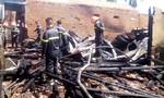 Cháy lớn thiêu rụi 3 căn nhà, 1 cơ sở đệm mút