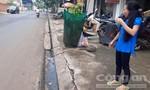 Thai phụ sắp sinh bị giật túi xách ngã, nhập viện cấp cứu