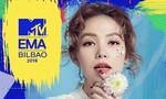 Minh Hằng đại diện Việt Nam tham dự MTV EMA 2018