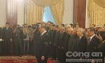 Xúc động Lễ viếng nguyên Tổng Bí thư Đỗ Mười tại TP.HCM