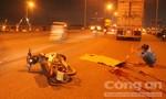 Xe máy tông đuôi container trên cầu Đồng Nai, 2 người thương vong