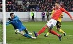 Thụy Sĩ thắng Bỉ 3 bàn cách biệt, chiếm ngôi đầu bảng A2
