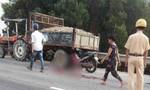Hai cha con tử vong thương tâm trên đường đi khám bệnh về
