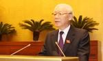 Chủ tịch nước đọc Tờ trình đề nghị Quốc hội phê chuẩn Hiệp định CPTPP