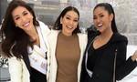 Minh Tú kết thân với hoa hậu Brazil, dạy bạn nói tiếng Anh