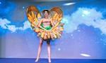 'Bánh mì' trở thành trang phục của H'Hen Niê tại Hoa hậu Hoàn vũ