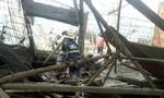 Sập sàn bê tông, ít nhất 1 người chết, gần chục người bị thương